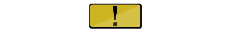 Sinalética de Advertência e Perigo