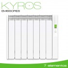 Emissor Térmico KYROS | 7 elementos | 770W