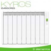 Emissor Térmico serie KYROS 990W - 9 elementos