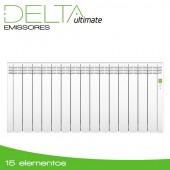 Emissor Térmico DELTA White | 15 elementos | 1600W