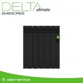 Emissor Térmico DELTA Black | 5 elementos | 550W
