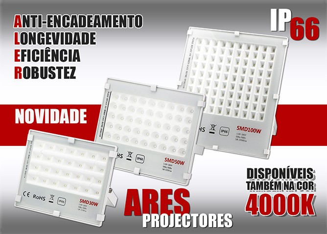 Projectores LED ARES