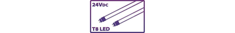 Tubulares LED T8 24Vdc