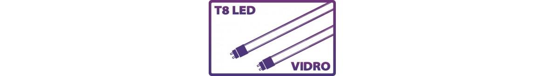 Tubulares LED T8 Vidro