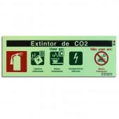 Sinal - Extintor de CO2