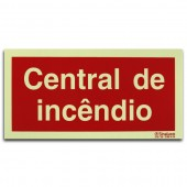 Sinal - Central de Incêndio