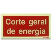 Sinal - Corte Geral de Energia