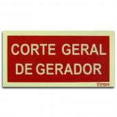 Sinal - Corte Geral de Gerador