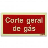 Sinal - Corte Geral de Gás