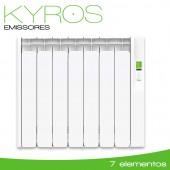 Emissor Térmico serie KYROS 770W - 7 elementos
