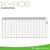 Emissor Térmico serie KYROS 1600W - 15 elementos