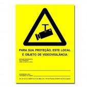 Painel Informativo - Vigilância Electrónica