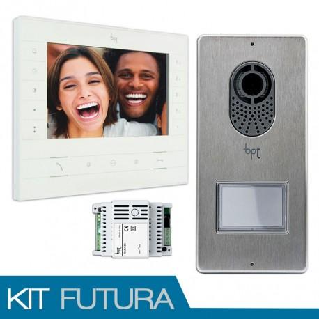 KIT Vídeo Porteiro BPT MONITOR FUTURA X1