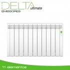 Emissor Térmico DELTA White | 11 elementos | 1210W