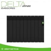 Emissor Térmico DELTA Black | 9 elementos | 990W