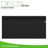 Emissor Térmico DELTA Black | 13 elementos | 1430W
