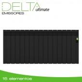 Emissor Térmico DELTA Black | 15 elementos | 1600W