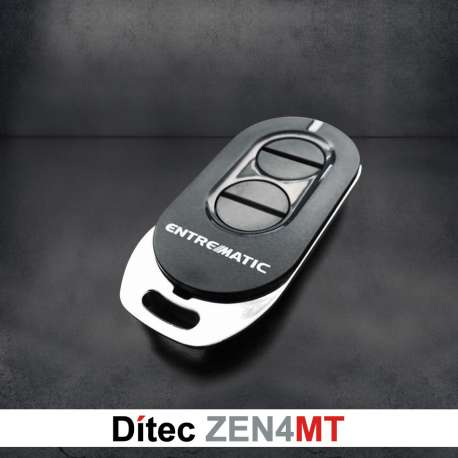 Comando Ditec 4CH 433Mhz Rolling Code ZEN4MT