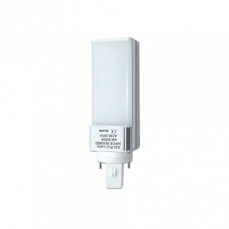 Lâmpada LED G24 6W 2835 Opalina