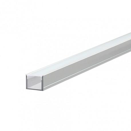 Perfil Alumínio em U Slim com difusor