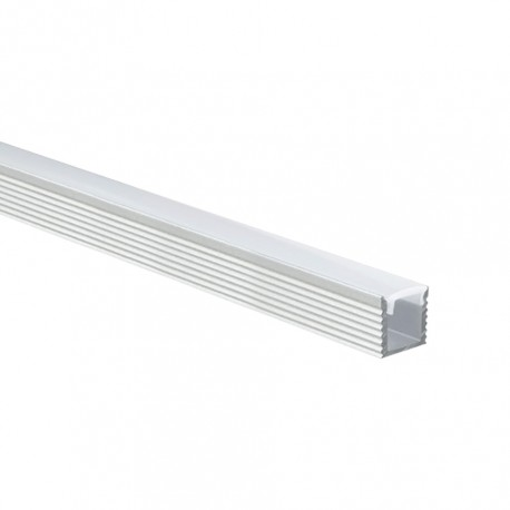 Perfil Alumínio em U Ultra Slim c/ difusor
