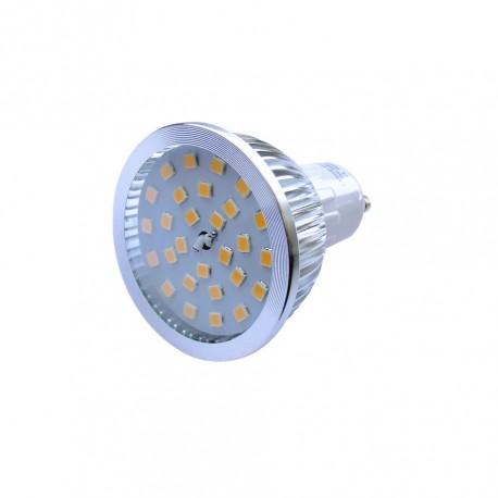 Lâmpada LED GU10 5W 28 LEDS Profissional