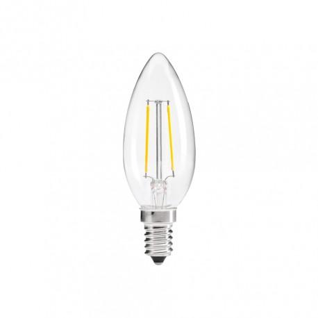 Lampada LED E14 Filamento 4W 360º 3000K