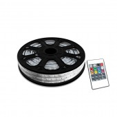 Fita LED 220V RGB 14,4W (10mts)