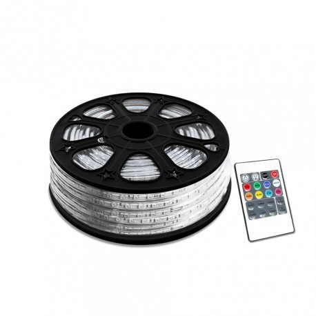Fita LED 220V RGB 14,4W (20mts)