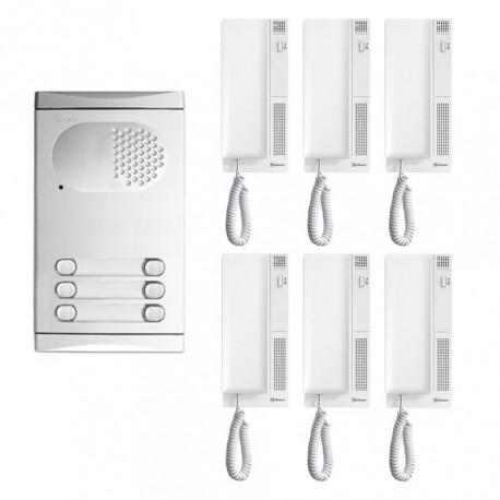 KIT Intercomunicador GOLMAR - 6 Telefones