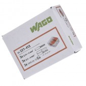 Ligador Wago 2×0,2-4mm 221-412 Flexivel (un)