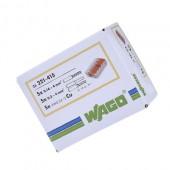 Ligador Wago 5×0,2-4mm 221-415 Flexivel (25un)