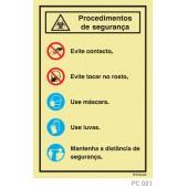 Procedimentos segurança PC001