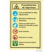 Procedimentos segurança COVID-19 PC002