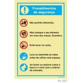 Procedimentos segurança COVID-19 PC007
