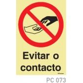 Evitar contacto COVID-19 PC073