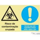 Risco de contaminação cruzada COVID-19 PC085