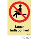 Lugar indisponivel COVID-19 PC079