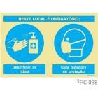 Neste Local é obrigatorio COVID-19 PC088