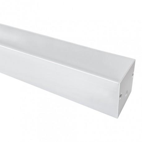 Perfil Alumínio Quadrado 35x35 com Topos
