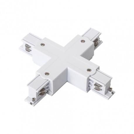 Conector em X p/ Calha Electrificada 3F+N (4 Vias)