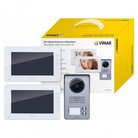 "KIT Vídeo Porteiro ELVOX LCD TFT 7"" a cores"