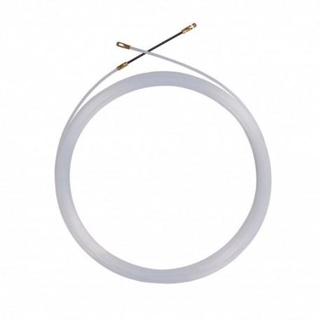 Guia nylon tira cabos 3mm