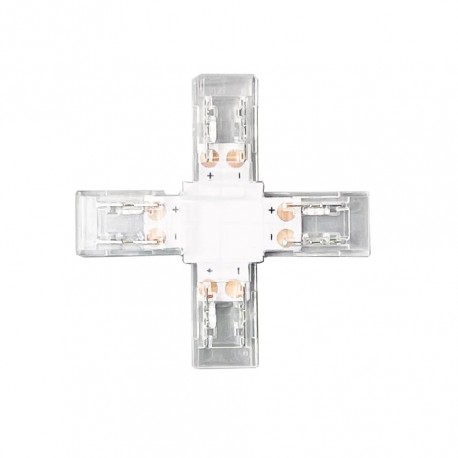 Conector em X para Fita COB LED 8mm