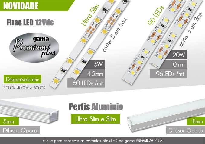 Fitas LED PREMIUM PLUS
